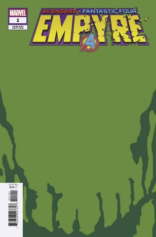 Empyre #1 (Skrull Green Cover)