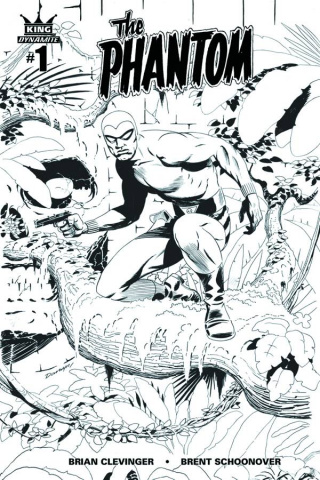 The Phantom #1 (10 Copy Cooke B&W Cover)