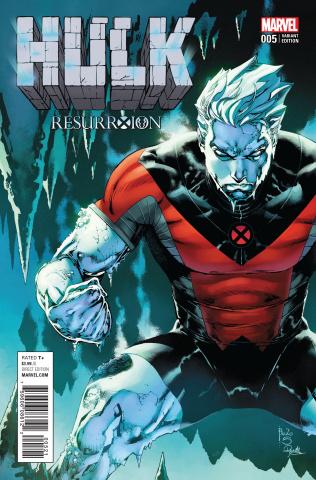 Hulk #5 (Siquera ResurrXion Cover)