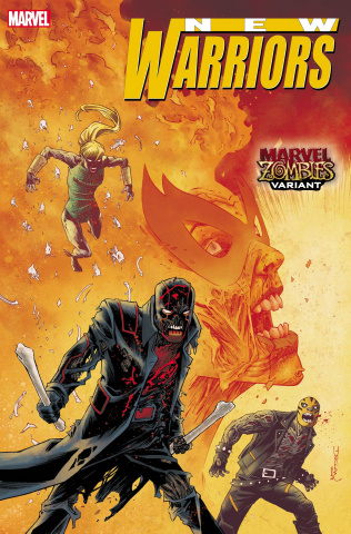 New Warriors #1 (Shalvey Marvel Zombies Cover)