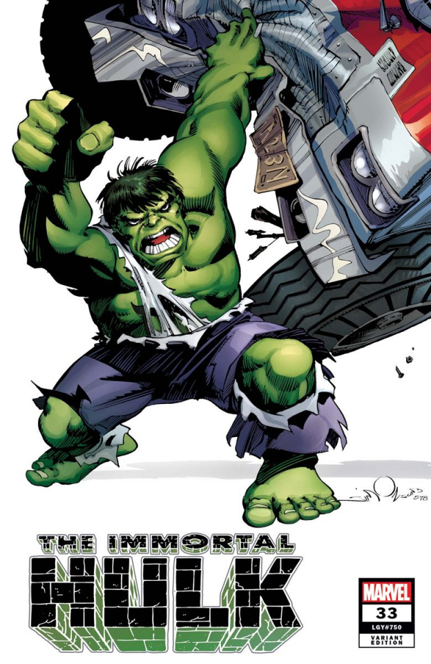 The Immortal Hulk #33 (Simonson Hidden Gem Cover)