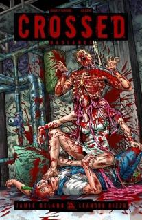 Crossed: Badlands #7 (Torture Cover)