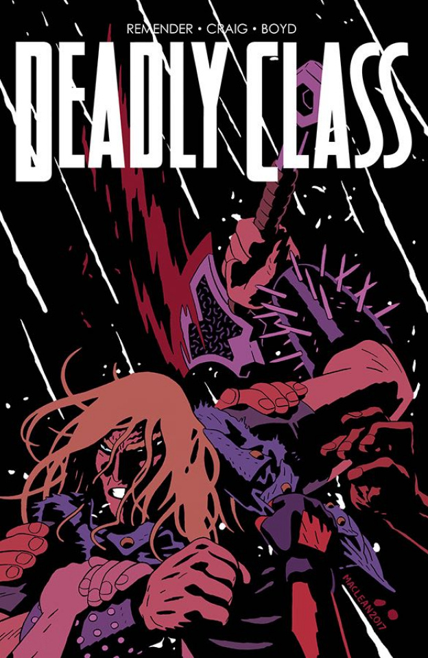 Deadly Class #28 (MacLean Cover)