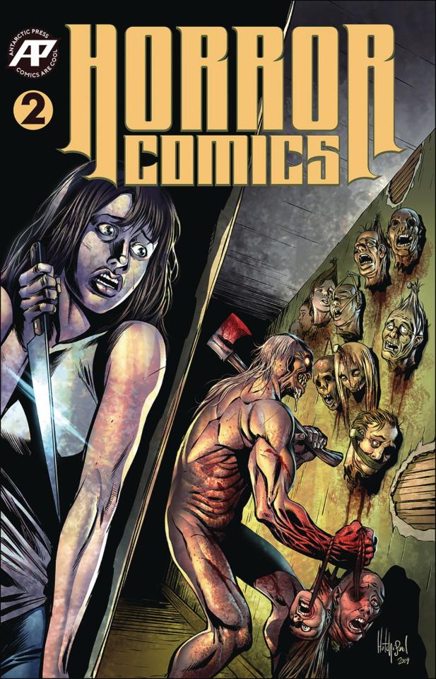 Horror Comics #2 (Variant Cover)