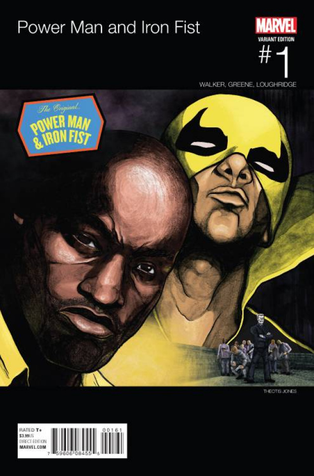 Power Man & Iron Fist #1 (Jones Hip Hop Cover)