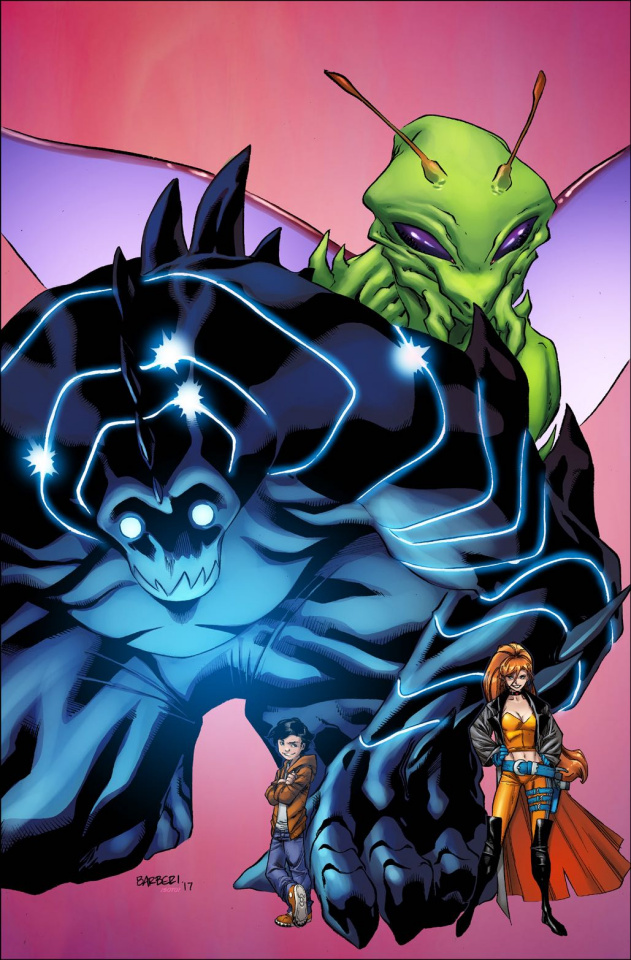 Monsters Unleashed! #1 (Barberi Cover)