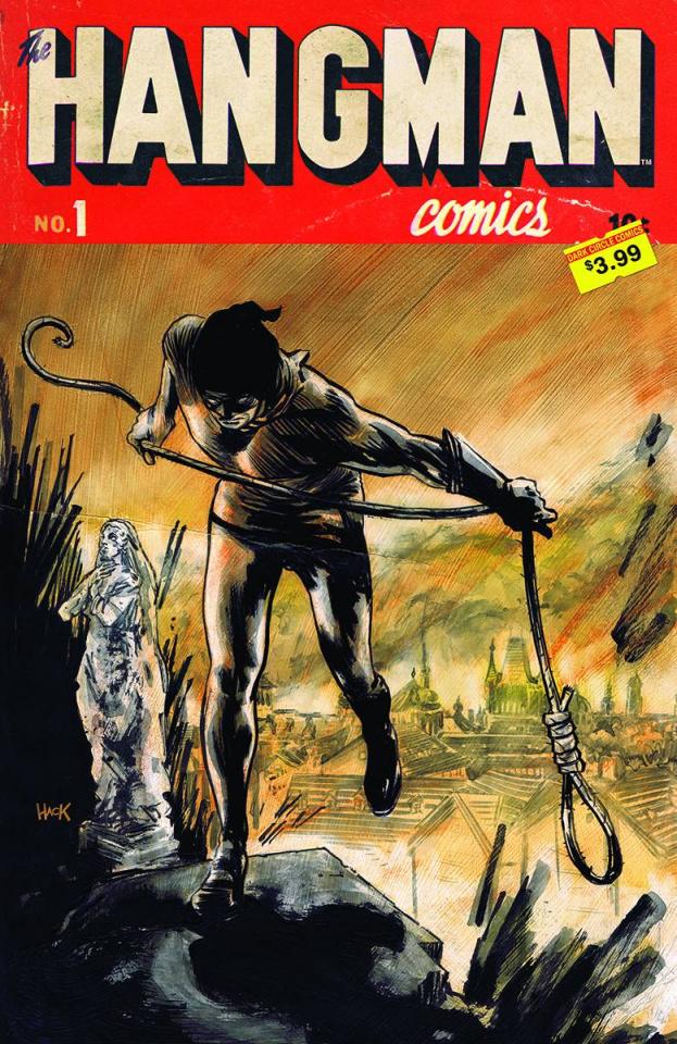 The Hangman #1 (Hack Cover)
