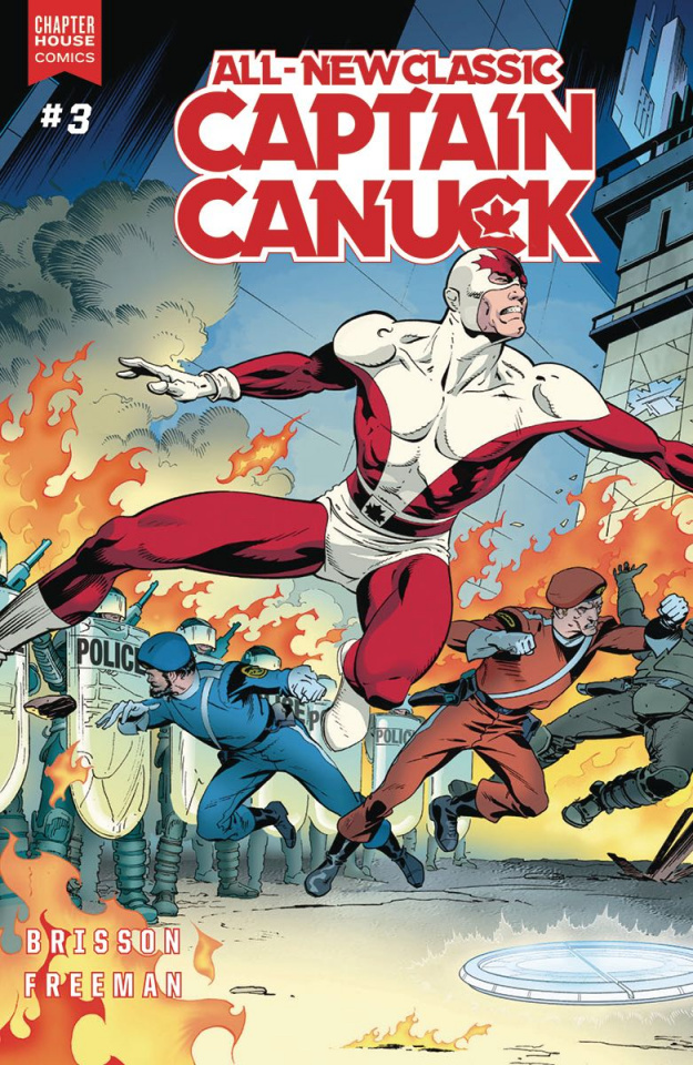 All-New Classic Captain Canuck #3 (Freeman Cover)