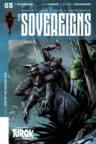 The Sovereigns #3 (Desjardins Cover)