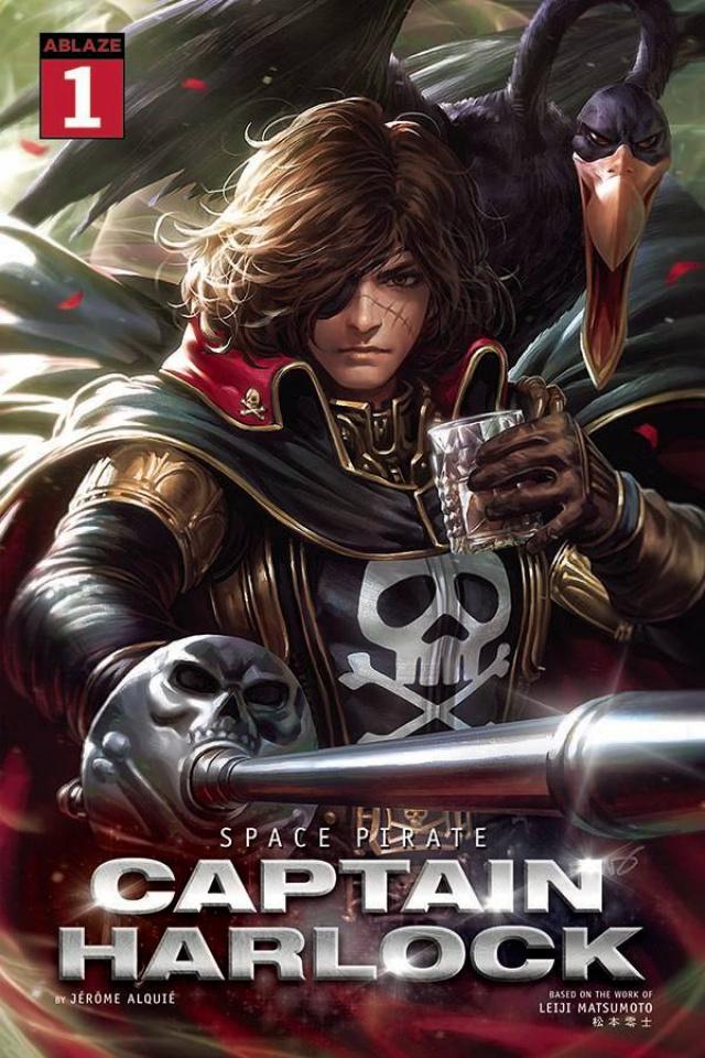 Space Pirate: Captain Harlock #1 (Derrick Chew Cover)