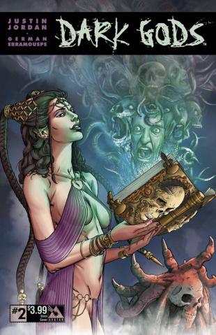 Dark Gods #2 (Siren Cover)