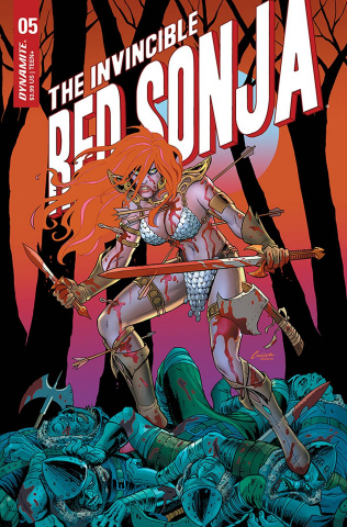 The Invincible Red Sonja #5 (Conner Cover)