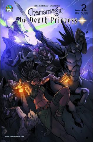 Charismagic: The Death Princess #2 (Lopez Cover)