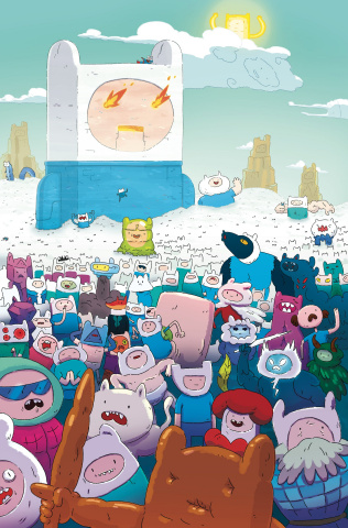 Adventure Time #70 (Subscription McCormick Cover)
