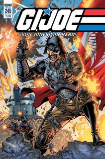 G.I. Joe: A Real American Hero #245 (Gallant Cover)