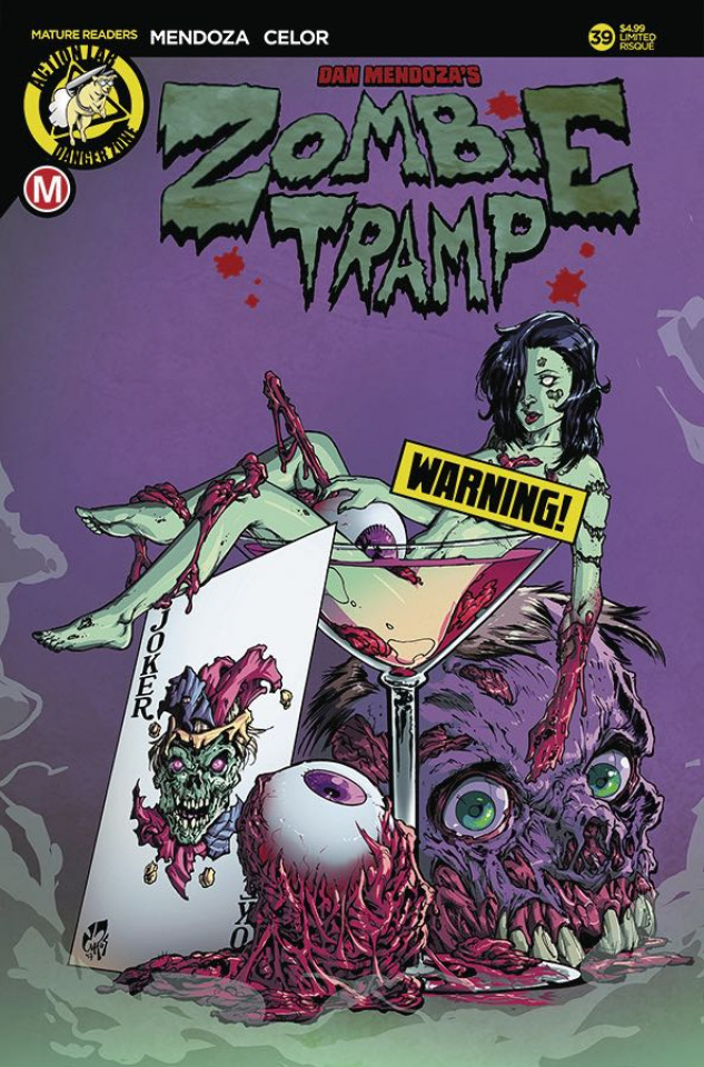 Zombie Tramp #39 (Risque Cocktail Cover)