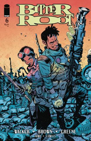 Bitter Root #6 (Greene Cover)