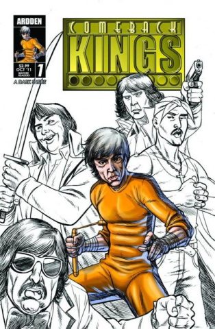 Comeback Kings #1 (2nd Printing)