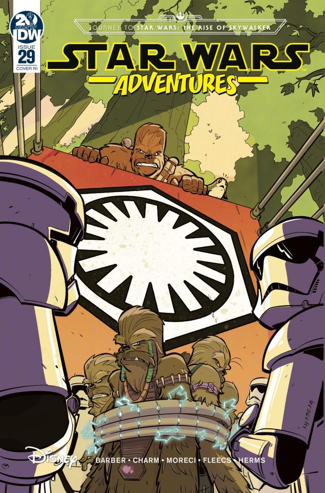 Star Wars Adventures #29 (10 Copy Bracchi Cover)