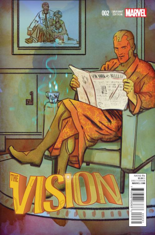The Vision #2 (Lotay Cover)