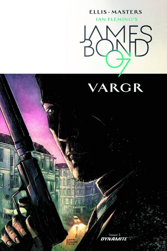 James Bond #3 (10 Copy Hardman Unique Cover)