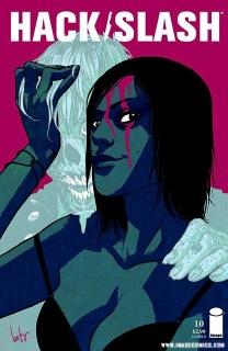 Hack/Slash #10 (Cloonan Cover)