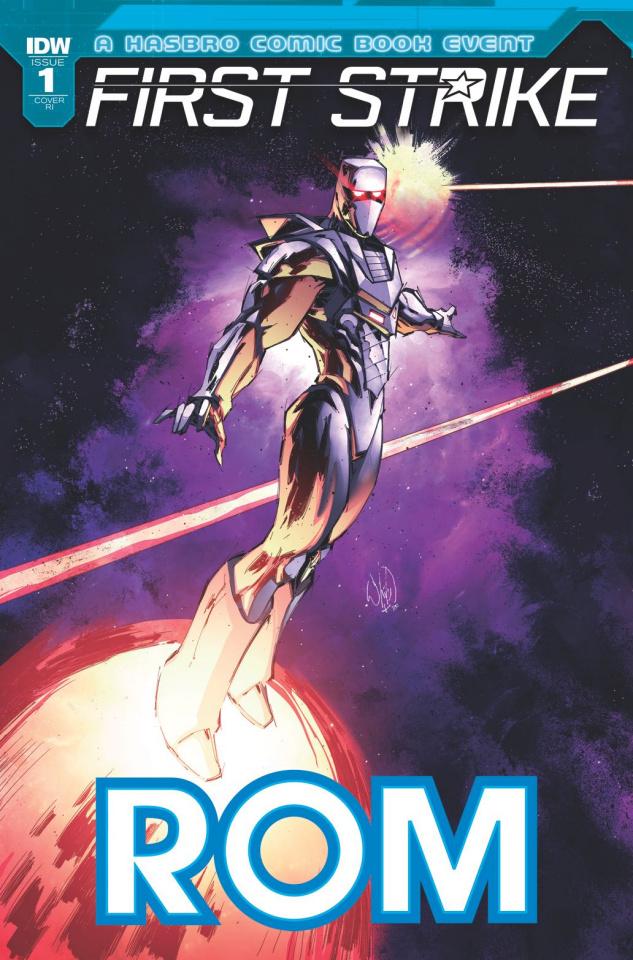 ROM: First Strike #1 (10 Copy Cover)