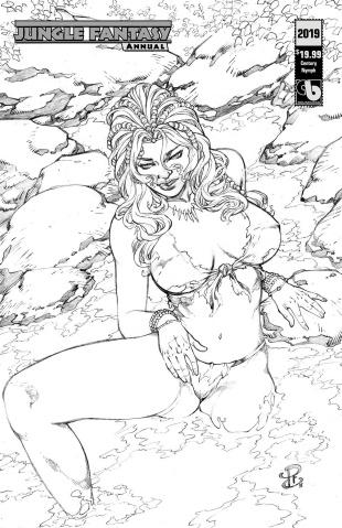 Jungle Fantasy Annual 2019 (Century Nymph Cover)