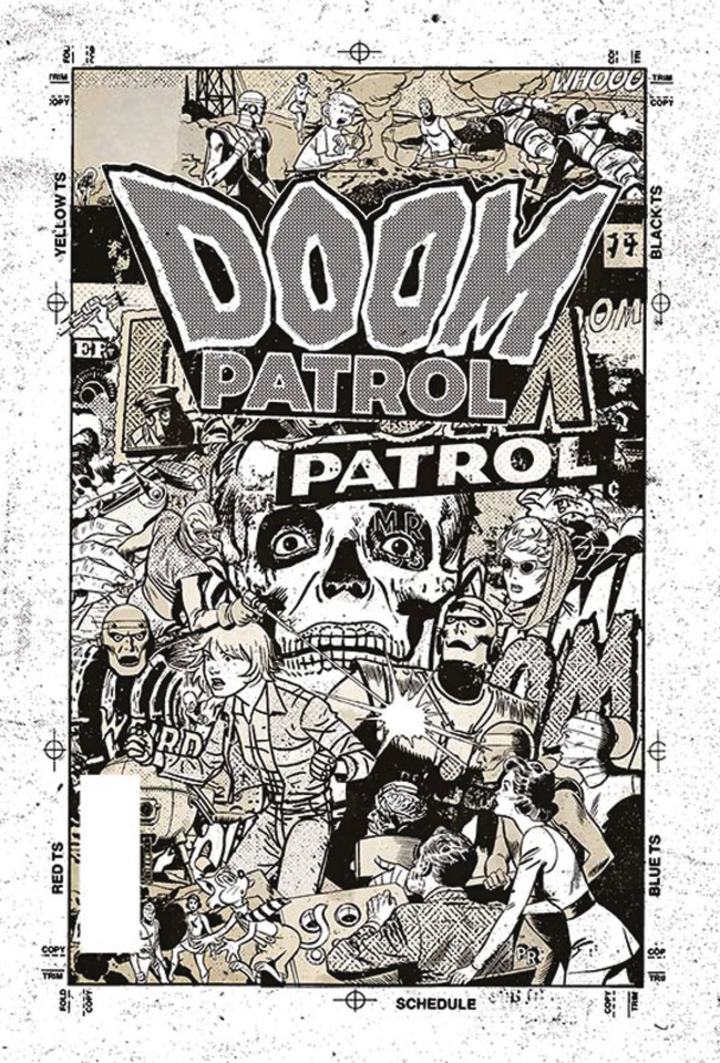 Doom Patrol #4 (Variant Cover)