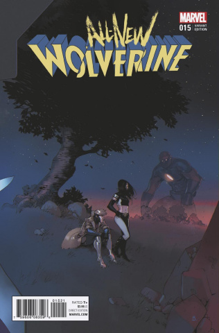 All-New Wolverine #15 (Bengal Connecting Cover)