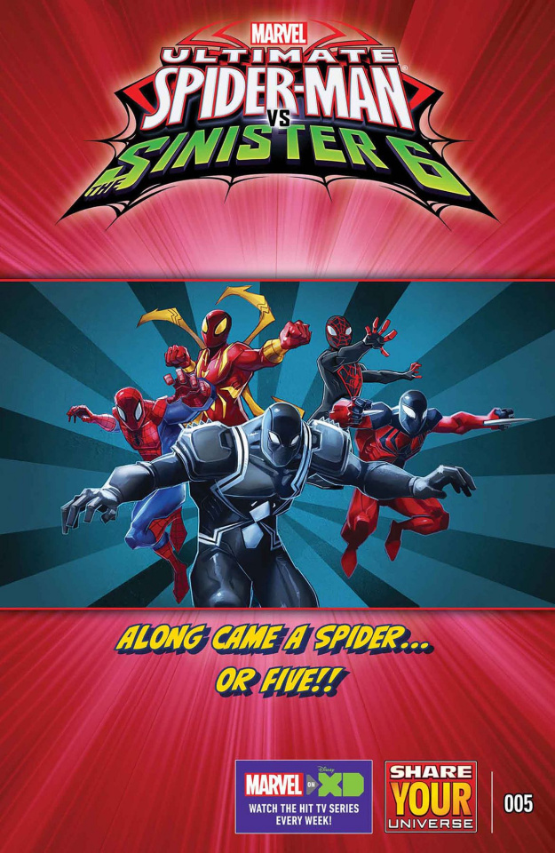 Marvel Universe: Ultimate Spider-Man vs. The Sinister 6 #5