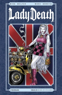 Lady Death #25 (Mod Girl Cover)