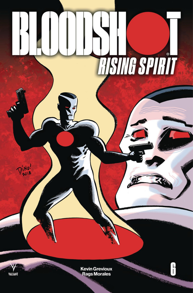 Bloodshot: Rising Spirit #6 (Haspiel Cover)