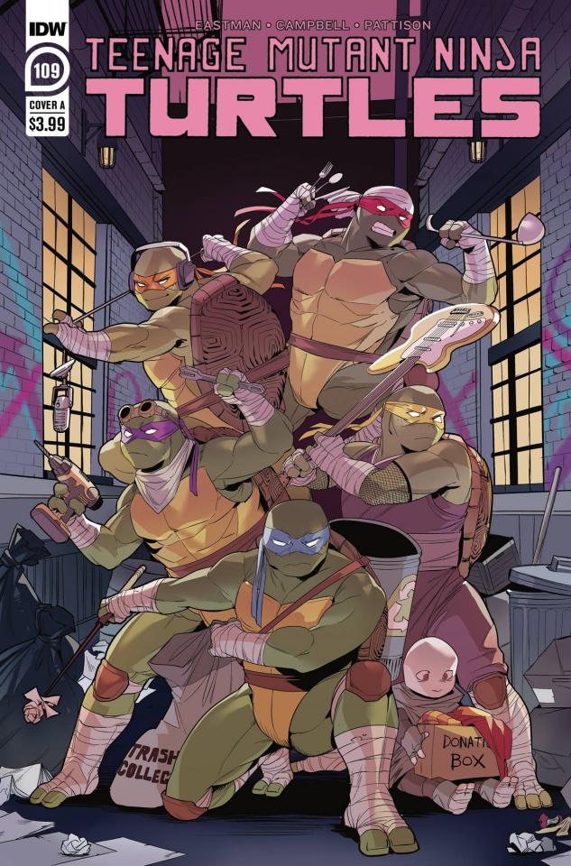 Teenage Mutant Ninja Turtles #109 (Nishijima Cover)