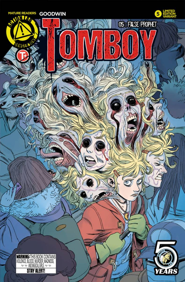 Tomboy #5 (Young Cover)