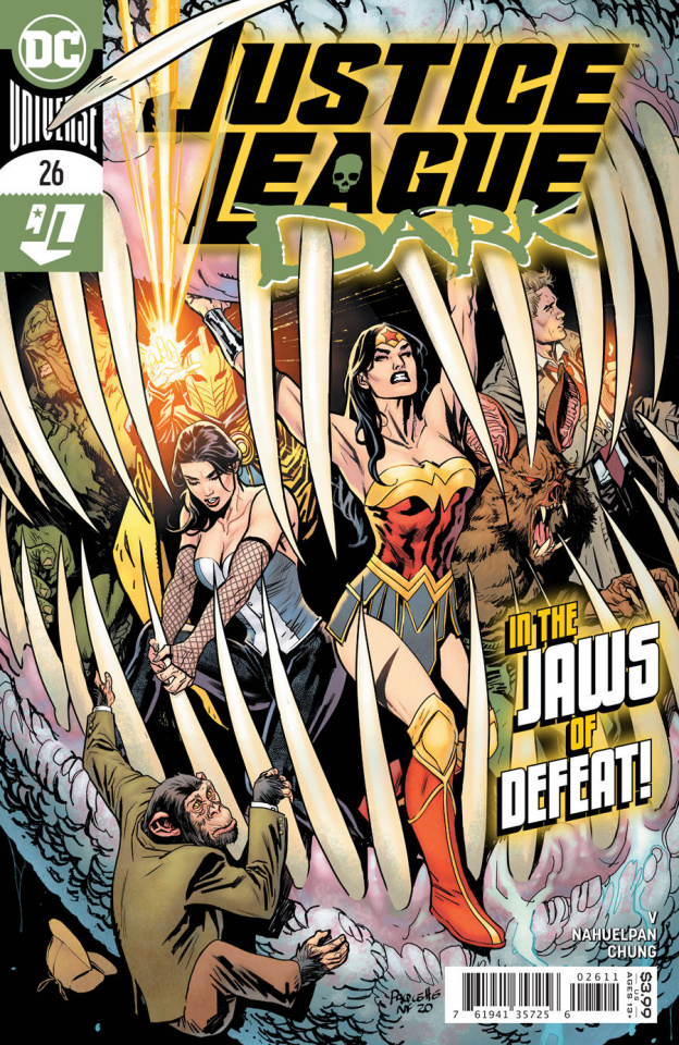 Justice League Dark #26 (Yanick Paquette Cover)