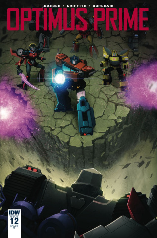 Optimus Prime #12 (10 Copy Cover)