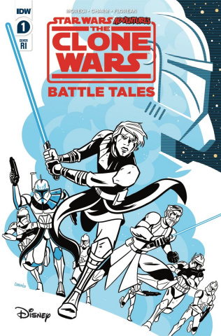 Star Wars Adventures: The Clone Wars #1 (10 Copy Charm Cover)