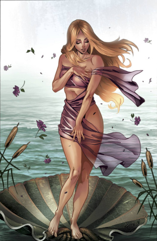 Grimm Fairy Tales: Goddess Inc. #1 (Cucca Cover)