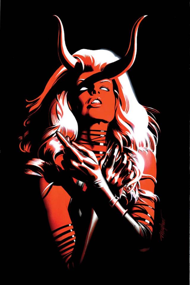Lady Demon #2 (Rare Mayhew Virgin Cover)
