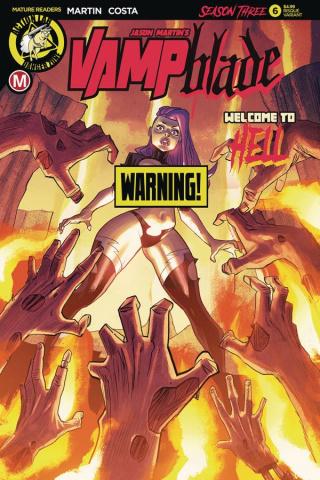 Vampblade, Season Three #6 (Costa Risque Cover)