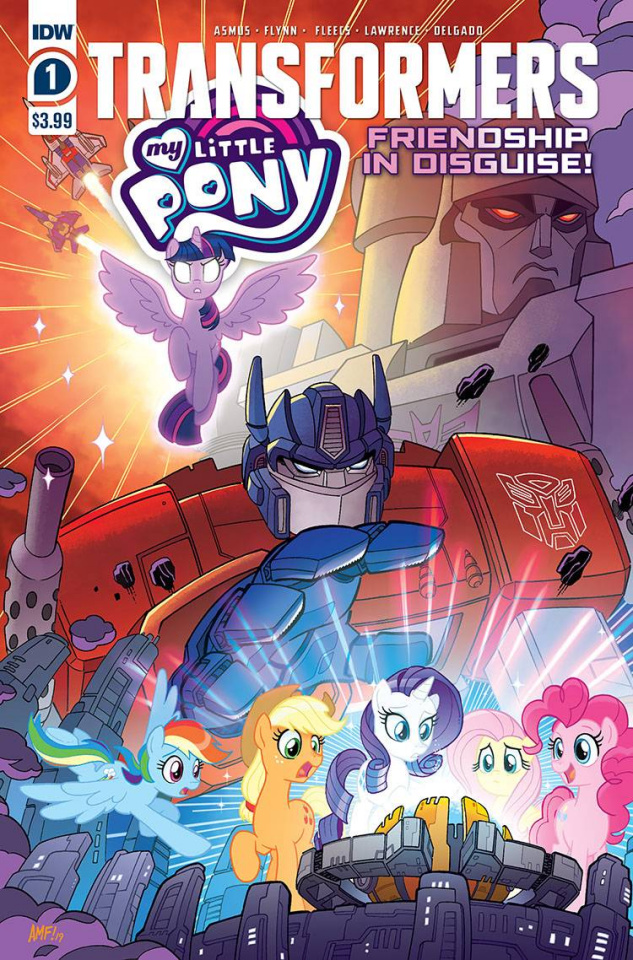My Little Pony / The Transformers #1 (Fleecs Cover)