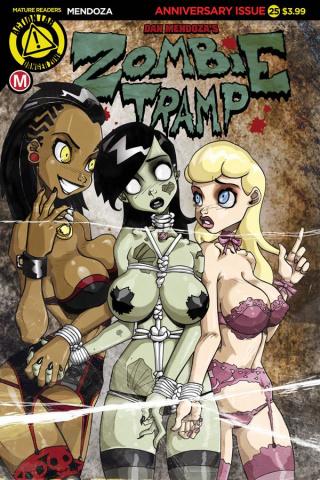 Zombie Tramp #25 (Mendoza Cover)
