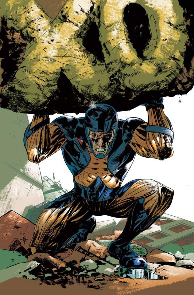 X-O Manowar #42 (Lieber Cover)