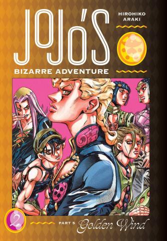 JoJo's Bizarre Adventure Part 5: Golden Wind, Vol. 2