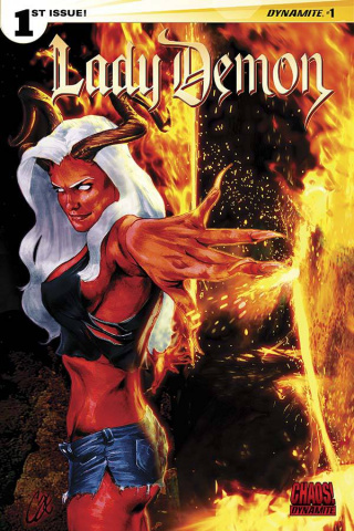 Lady Demon #1 (Staggs Cover)