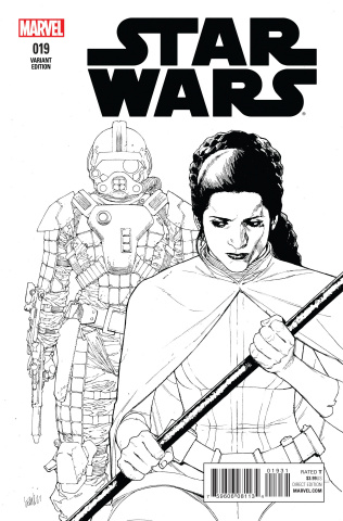 Star Wars #19 (Yu Sktech Cover)