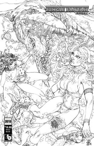 Jungle Fantasy Annual 2019 (Century Sea Life Cover)