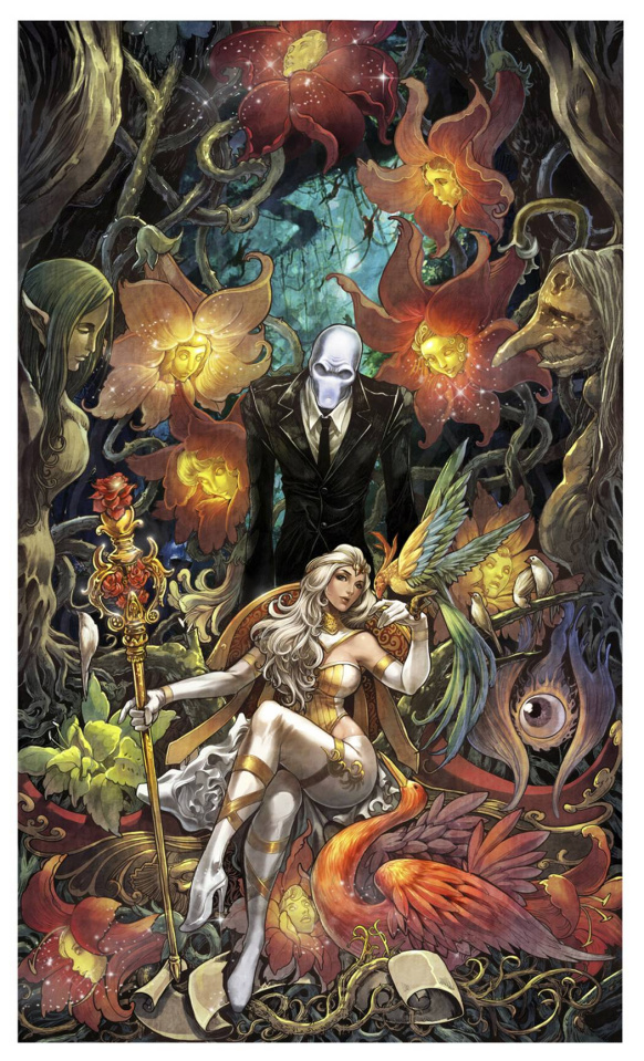 Grimm Fairy Tales: Wonderland #27 (Daxiong Cover)