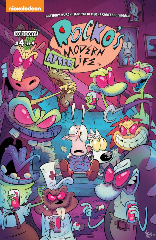 Rocko's Modern Afterlife #4 (McGinty Cover)
